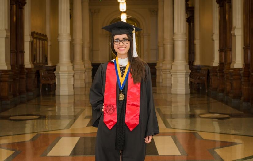 2018 Grad Pic at the Capitol